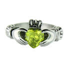 sterling silver claddagh rings CLR1003 August