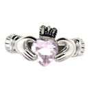 sterling silver claddagh rings CLR1003 June