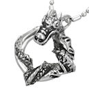Entwined Serpent pendant