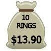 Ten Rings for $13.90